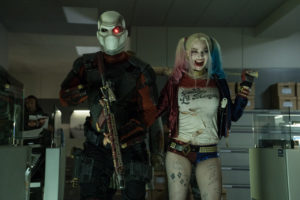 Deadshot (Will Smith) y Harley Quinn (Margot Robbie)